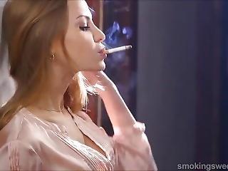 best of Girl chain smoking