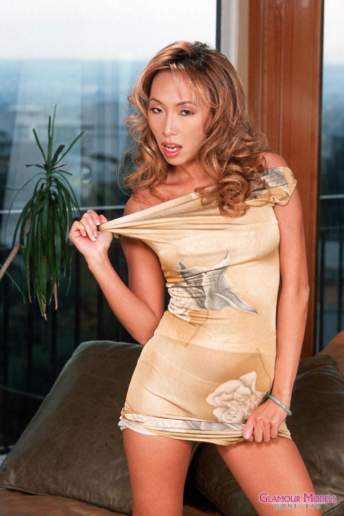 Asian bamboo porn star