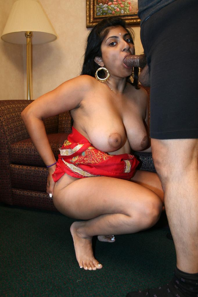 Chubby naked blowjob dick and interracial