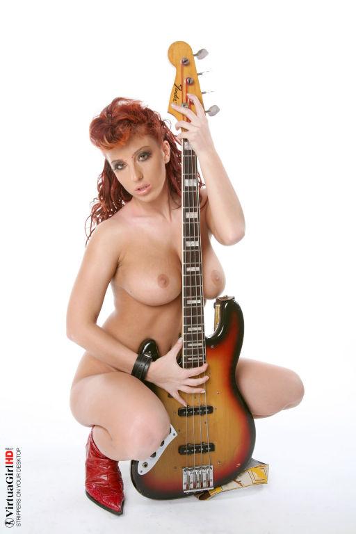 Dottie reccomend redhead guitar