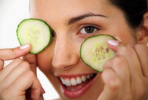 Cheddar reccomend Cucumber facial to remove spots