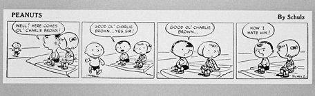 best of Peanut Comic strip first first