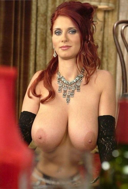 Pussy redhead big boobs