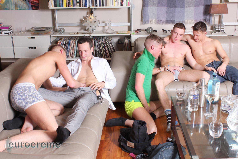 Adult gay orgy porn