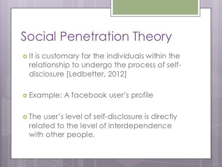 best of Penetration stages four Social theory