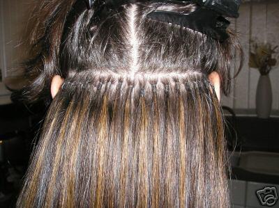 Ki-No-Wa reccomend Bonding strip hair extensions