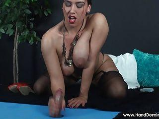 best of On top handjob Women fem dom