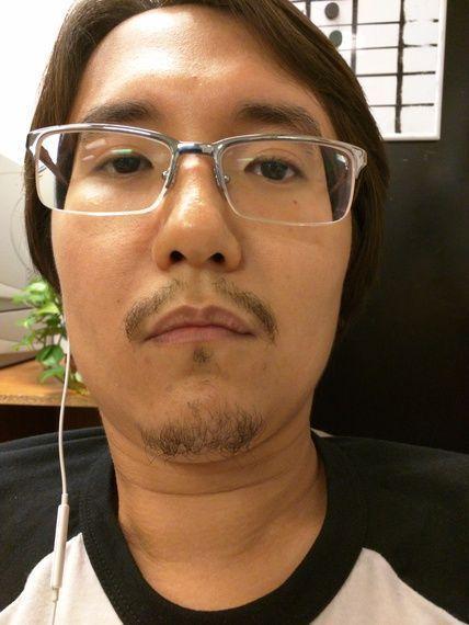 Asian face hair