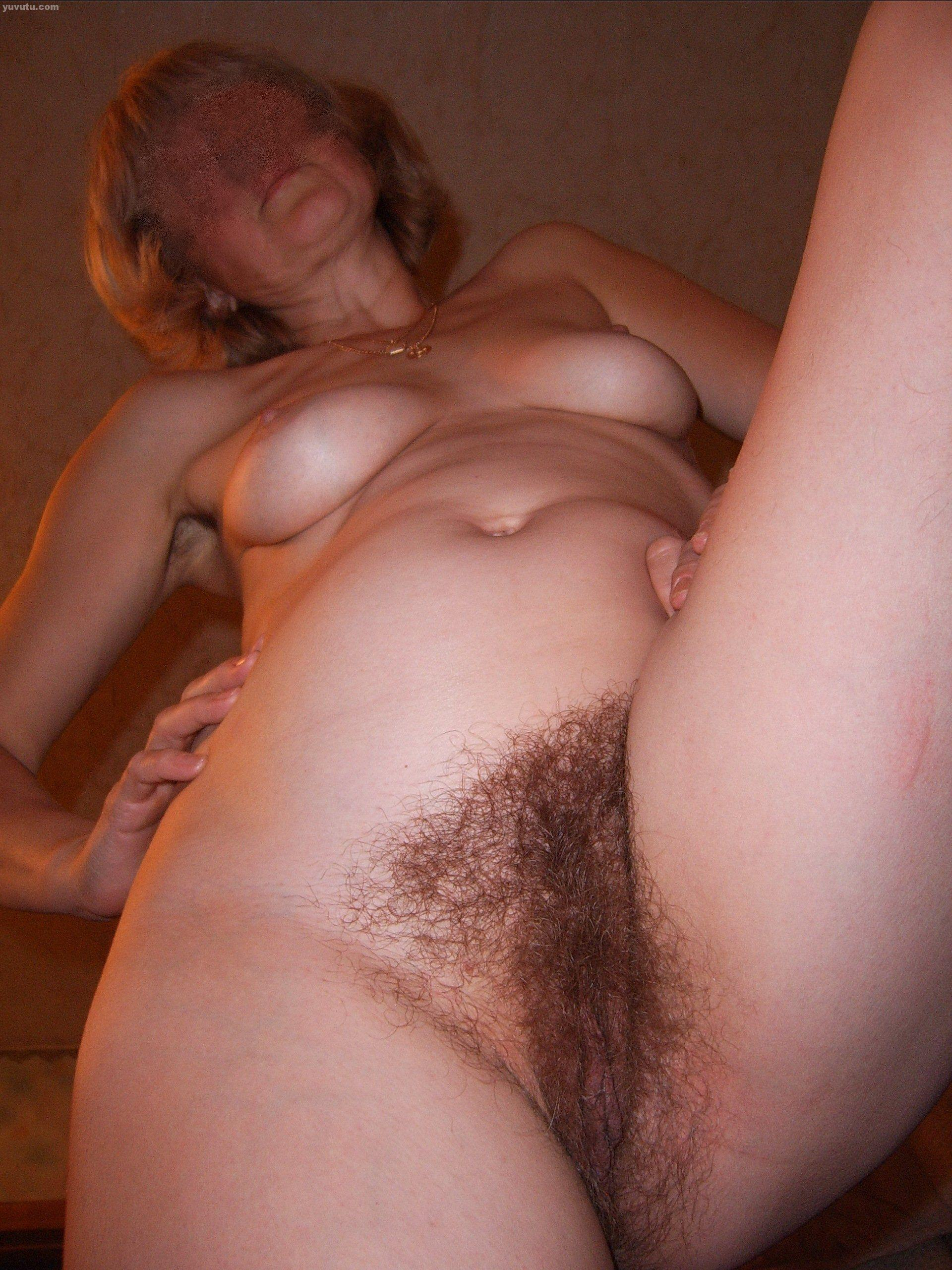 Wife really hairy pussy