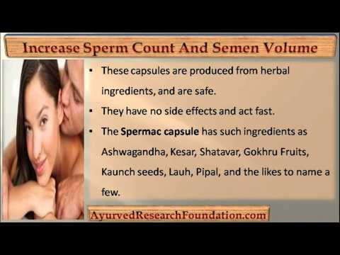 best of Sperm fluid Increasing