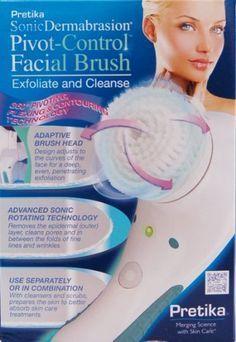 Pretika sonicdermabrasion facial brush