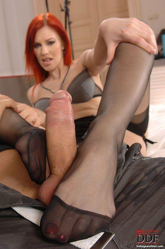 best of And legs Footjob