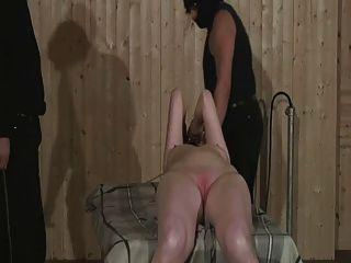 Her pussy spanked see