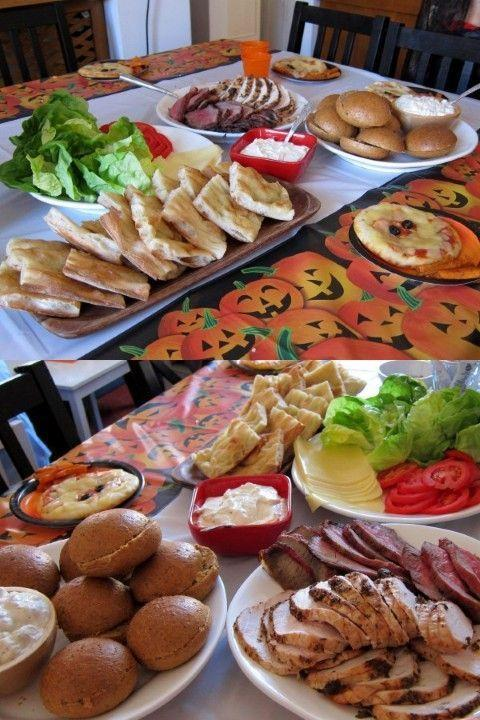 Finger food for adults