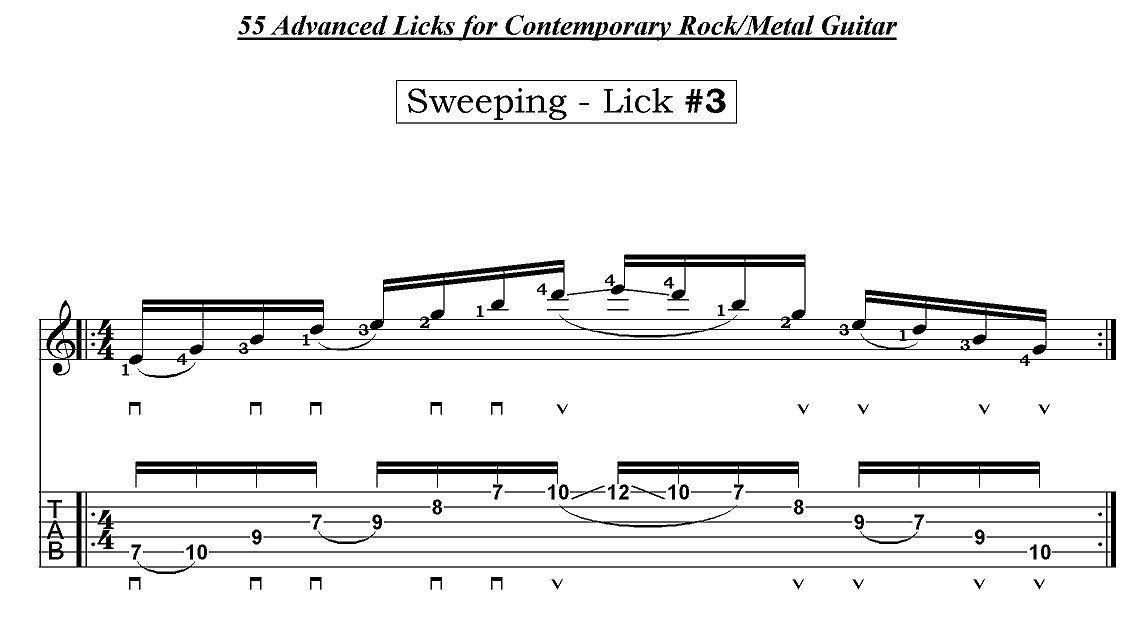 Champ reccomend Richie kotzen lick of the week