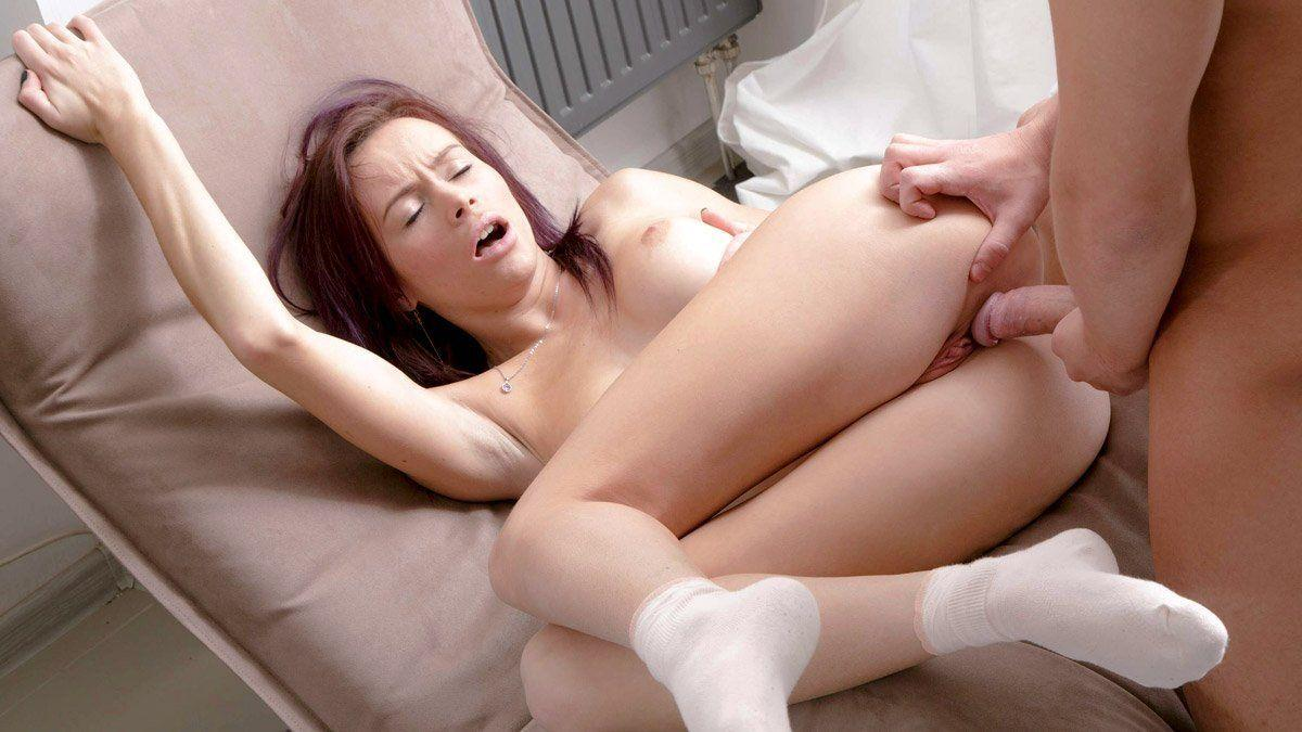 Asian butt sucking
