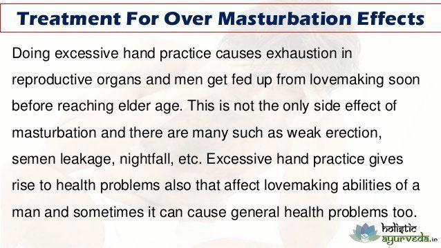 Can masturbation cause weekness