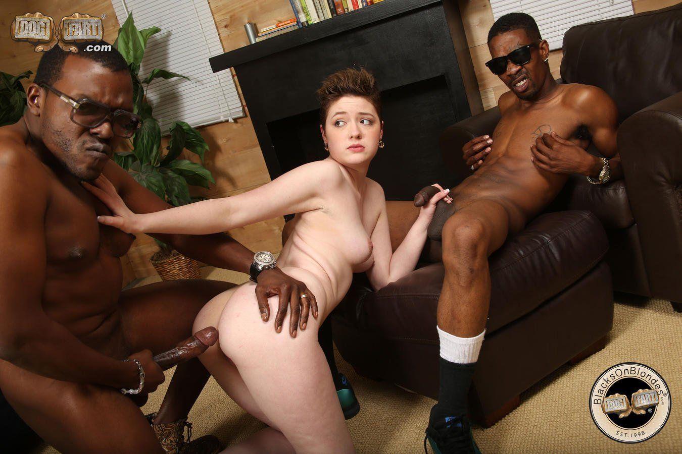 Black white gangbang wife