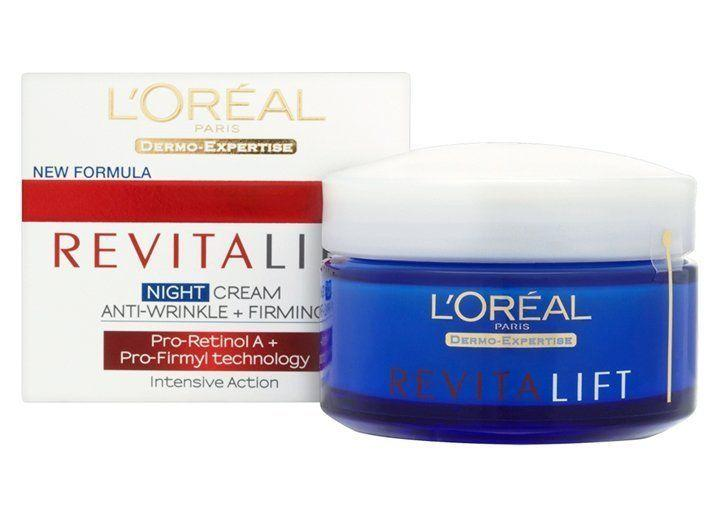Retinol facial products