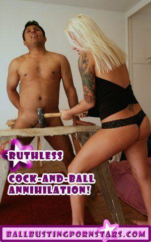 Yak reccomend Femdom castration cbt clips