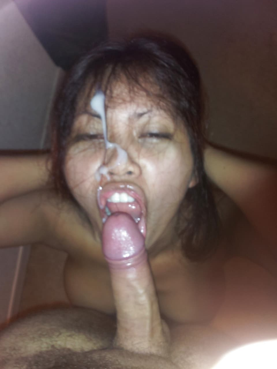 Milf cum facial mature amateur