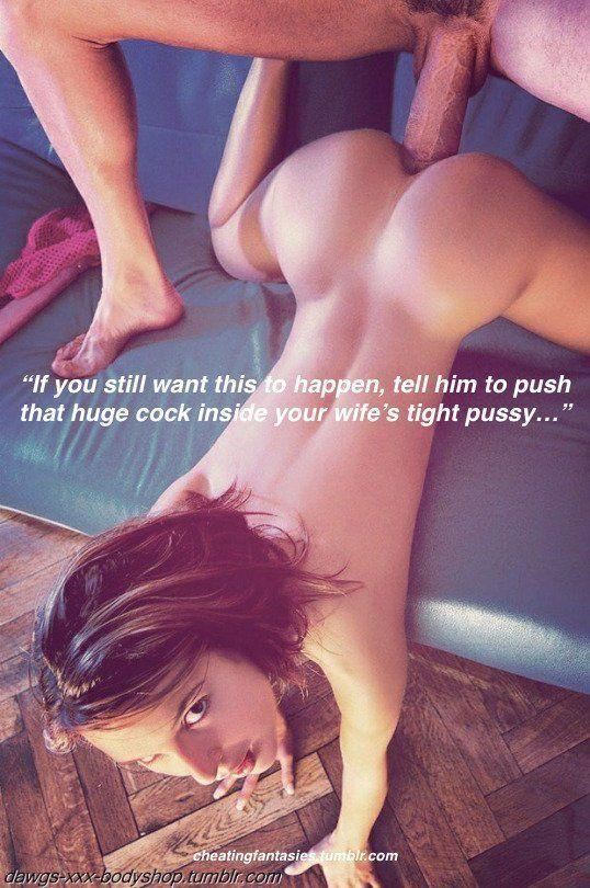 Your wifes tight pussy